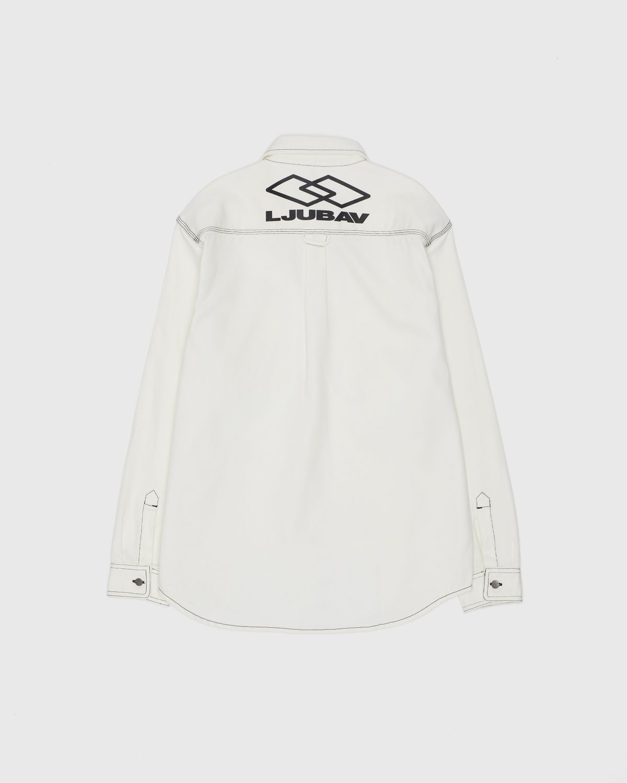 Carhartt WIP x Ljubav —  Chalk Shirt Jac Wax - Image 1
