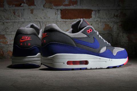 online store 020a7 2e7c8 Nike Air Max 1 Essential Medium Grey Ultramarine