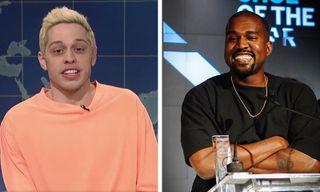Pete Davidson Claps Back at Kanye West's Pro-Trump Rant on 'SNL'