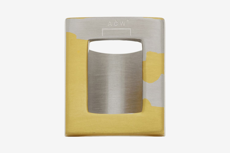 Oversize Gold 2 Ring