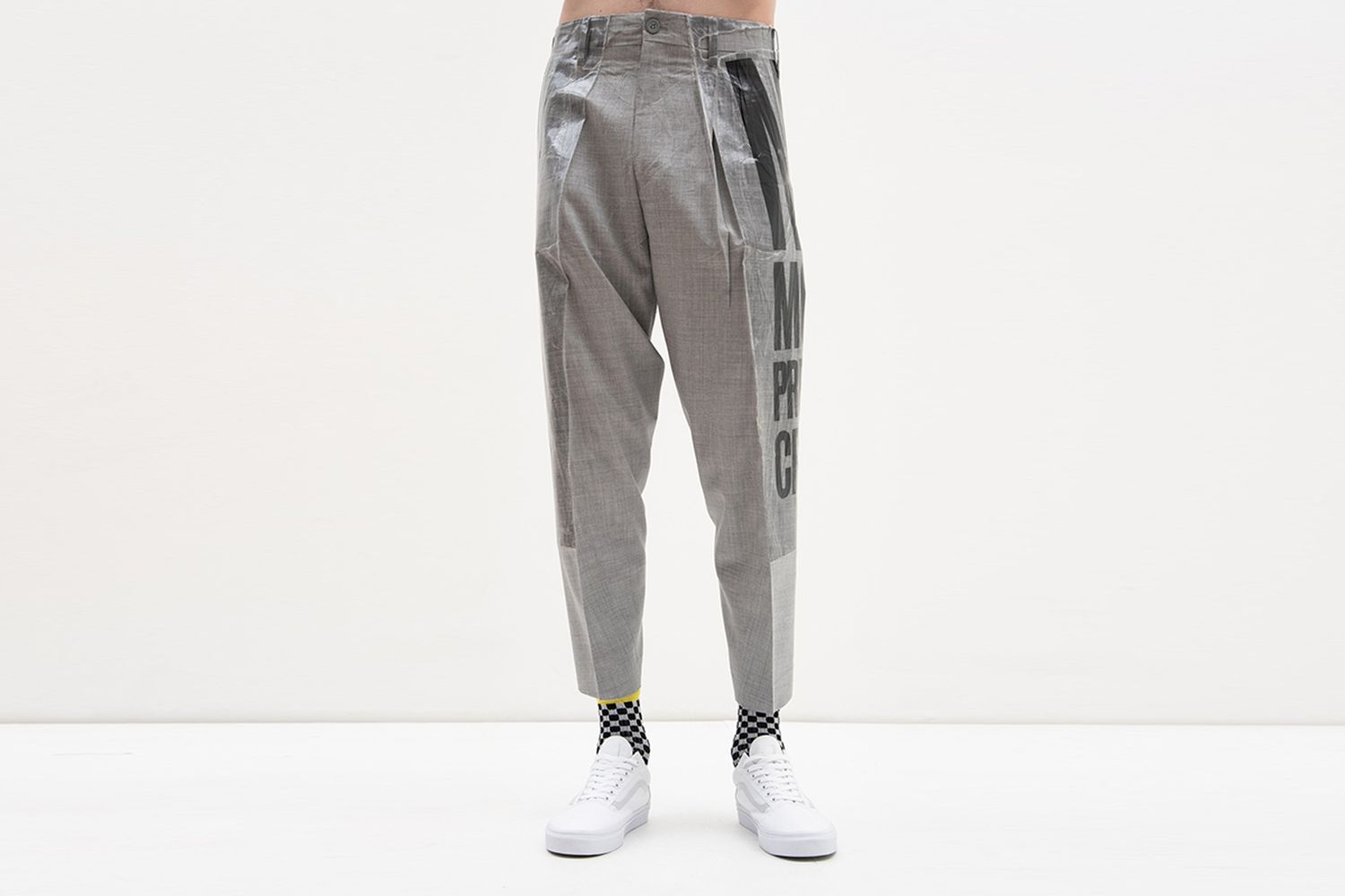 2D Packed 3D Cutting Trousers