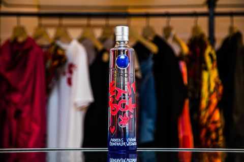 INKD Ciroc Vivienne Westwood Paris Fashion Week Bottle Landscape CÎROC