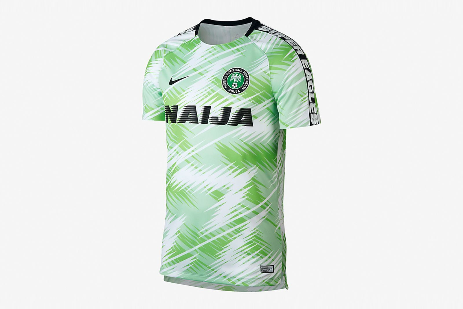 nigeria dri fit squad jersey 2018 FIFA World Cup nigeria football kit