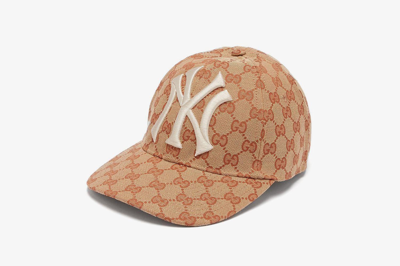 NY Yankees-logo GG-canvas cap