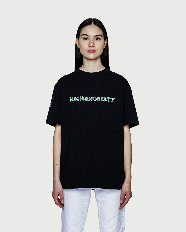 Highsnobiety — Inner Life The Strength T-Shirt Black - Image 3