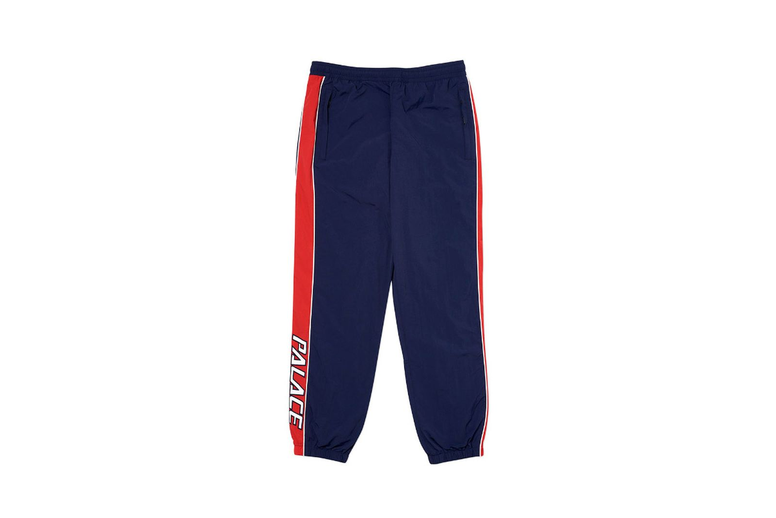 Palace 2019 Autumn bottoms racer navy front