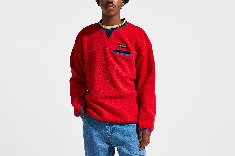 Wapito Sherpa Crew Neck Sweatshirt