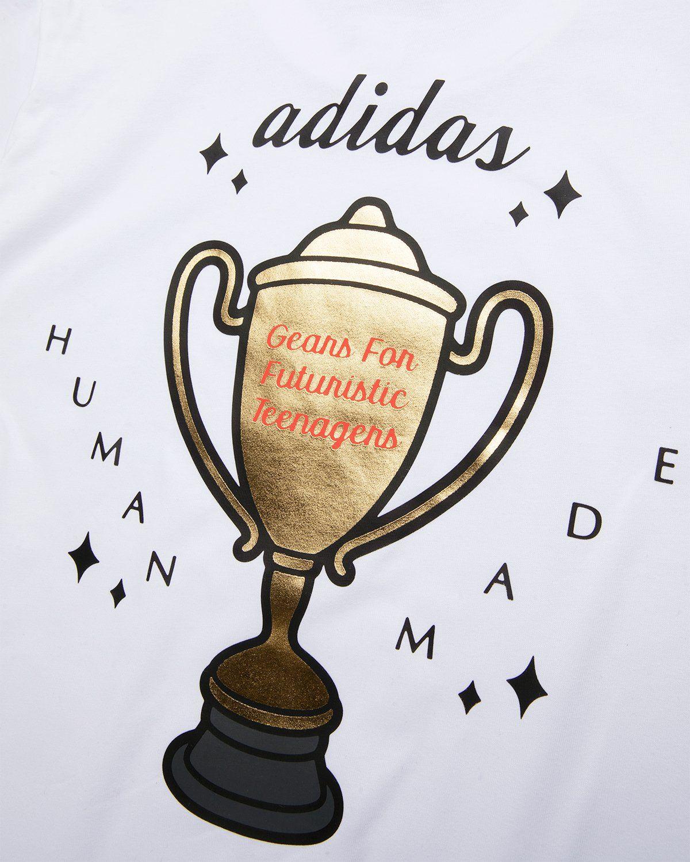 adidas Originals x Human Made — Graphic Tee White - Image 4