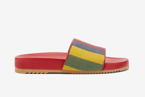 Baiadera-Striped Canvas Slides
