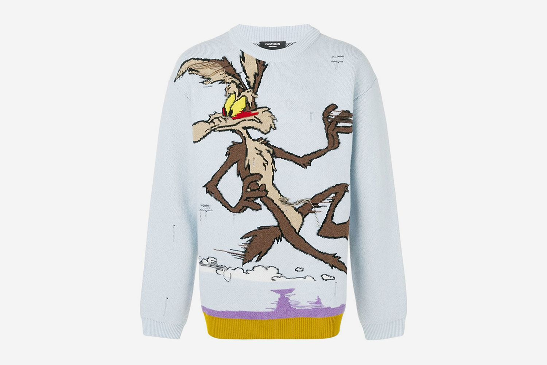Looney Tunes Coyote Sweater