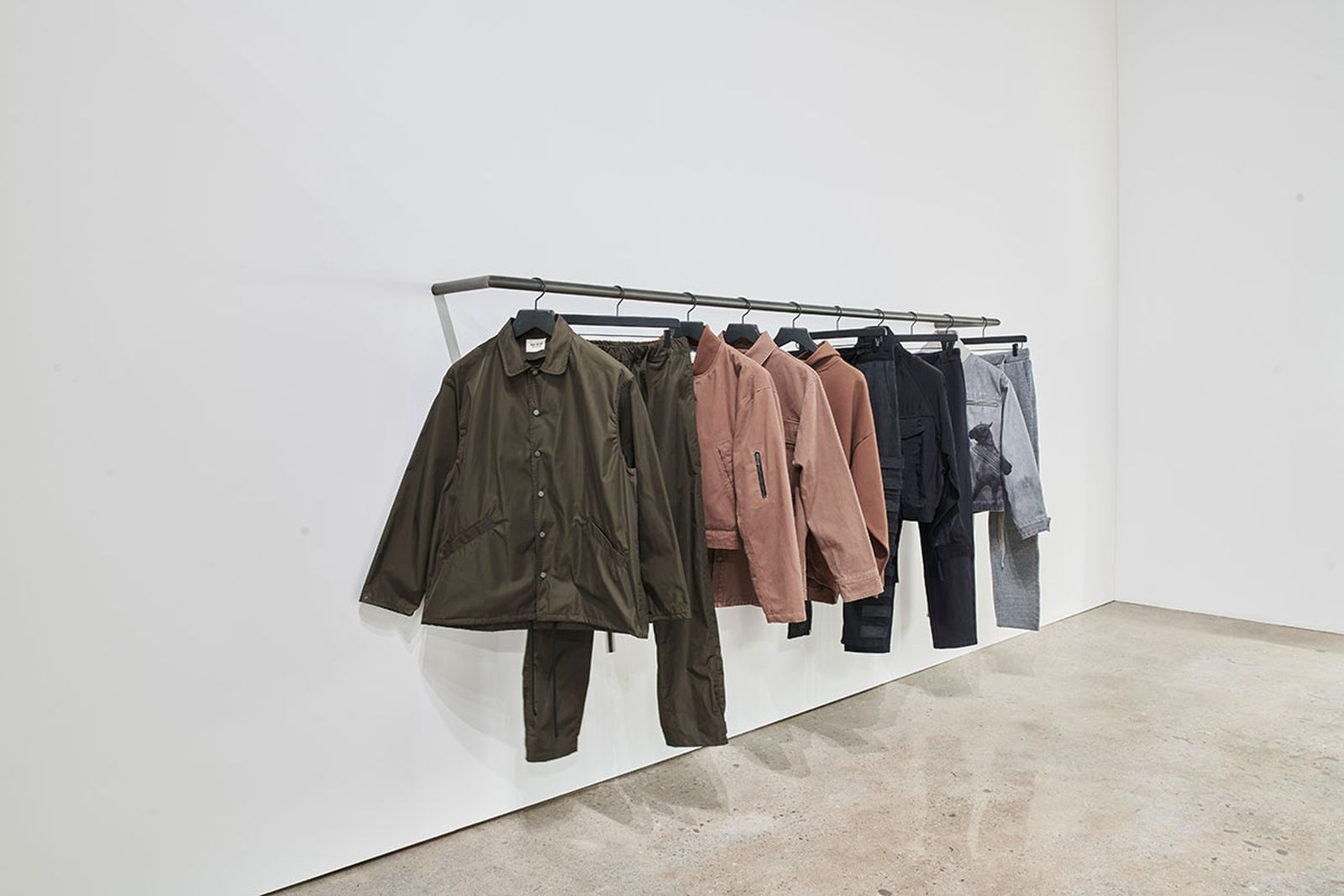 Fear of God pop-up in Downtown Los Angeles