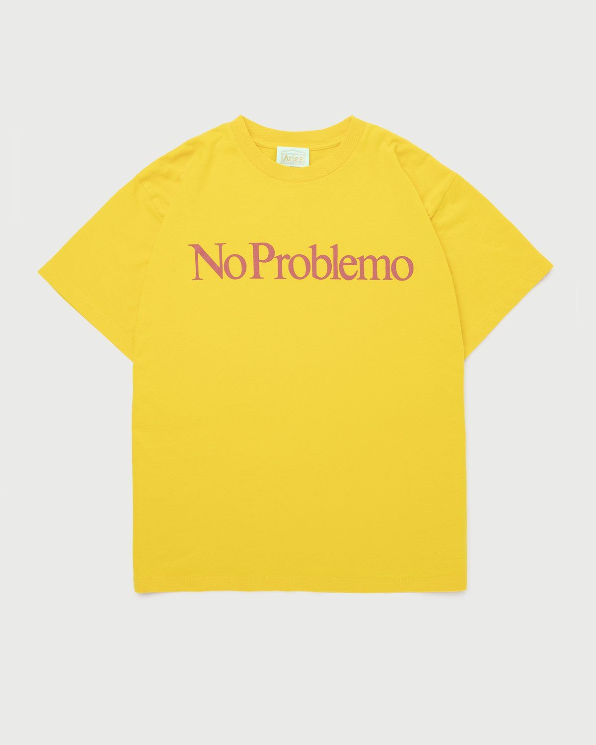 Aries - No Problemo Tee Yellow - Image 1