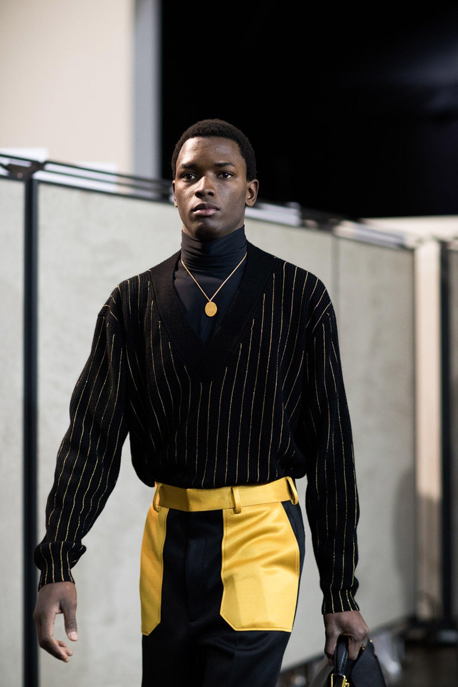 MFW19 Milan Fendi EvaAlDesnudo 13 milan fashion week runway