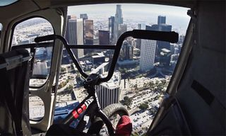 Nigel Sylvester Meets Nick Young, Rob Dyrdek & Ben Baller While Biking Through LA