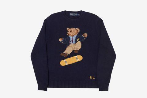 Skate Polo Bear Sweater