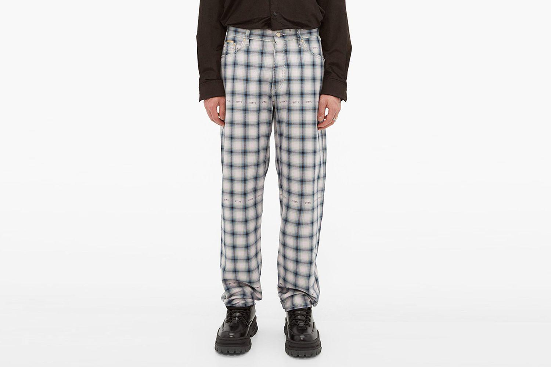 Benz Tartan Trousers