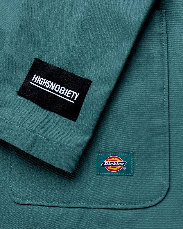 Highsnobiety x Dickies – Blazer Lincoln Green - Image 3