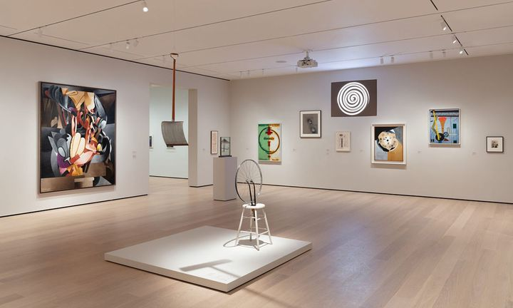 MoMA interior
