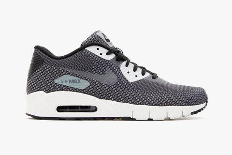 "finest selection ff75b 552d6 Nike Air Max 90 Jacquard ""Black Cool Grey-Dark Grey-Summit White"""