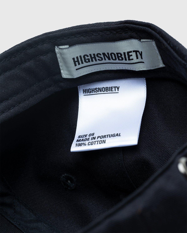 Highsnobiety – Baseball Cap Black - Image 6