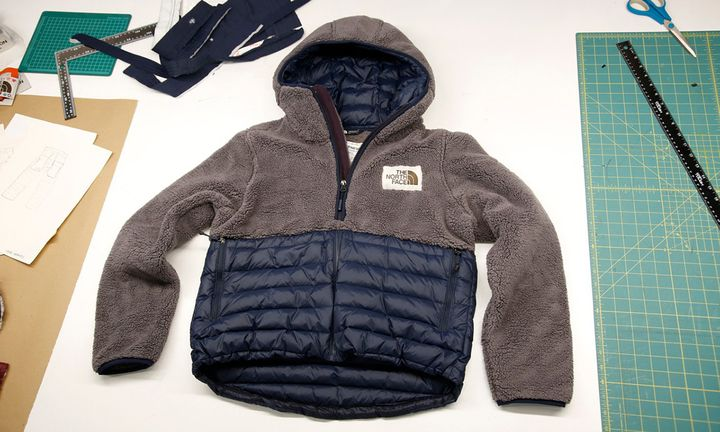 The North Face bespoke hoodie