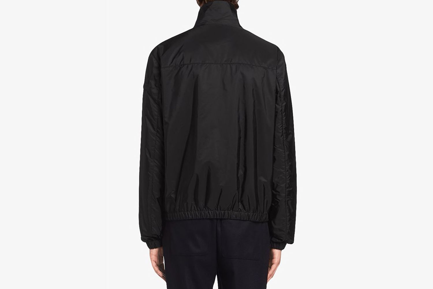 Funnel-neck Windbreak Jacket