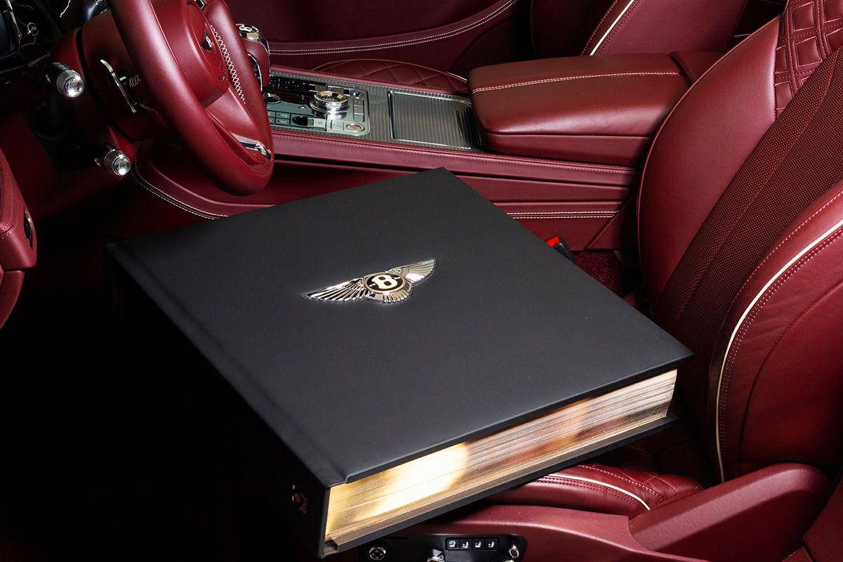 Bentley Celebrates a Century With This $254,000 Book
