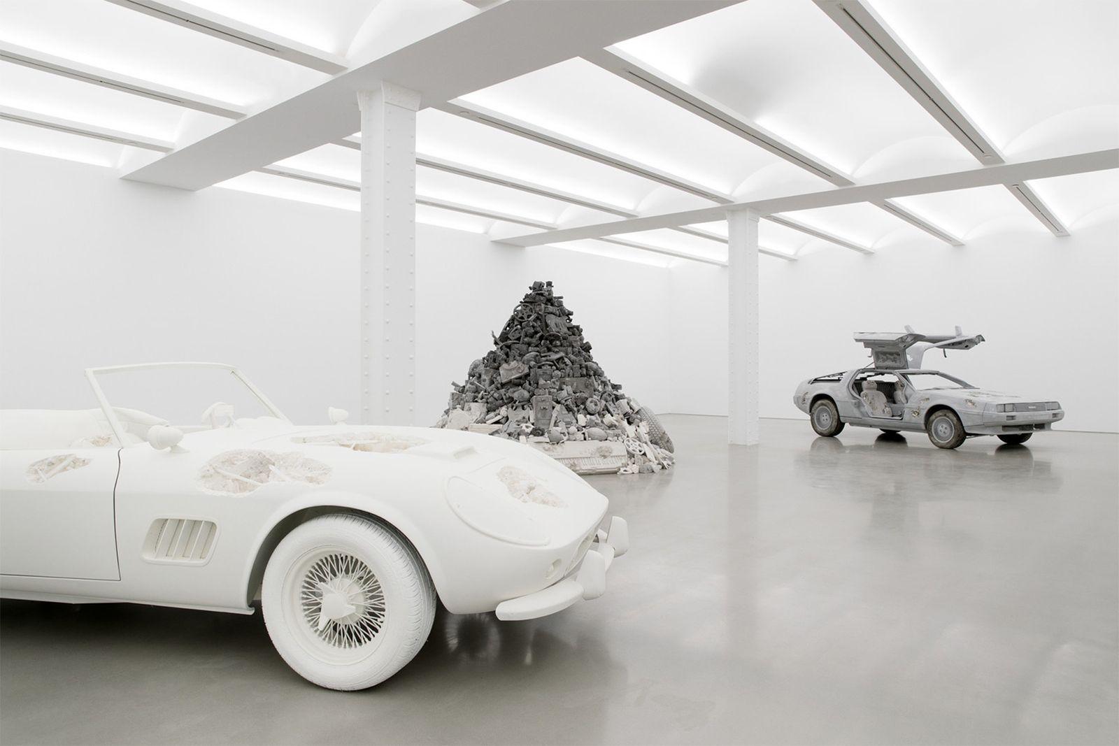 daniel arsham 3018 exhibition galerie perrotin