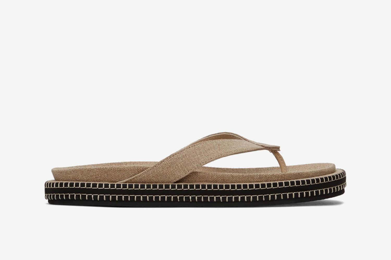 'Les Tatanes Blé' Sandals