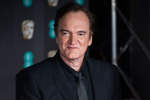 Quentin Tarantino attends the EE British Academy Film Awards