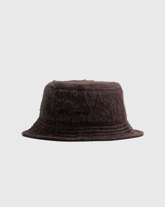 Our Legacy – Bucket Hat Brown Hairy Alpaca - Image 1