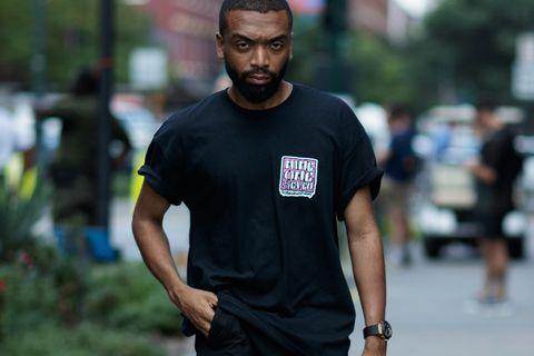 black tees main Acne Studios Issey Miyake HOMME PLISSÉ MSGM