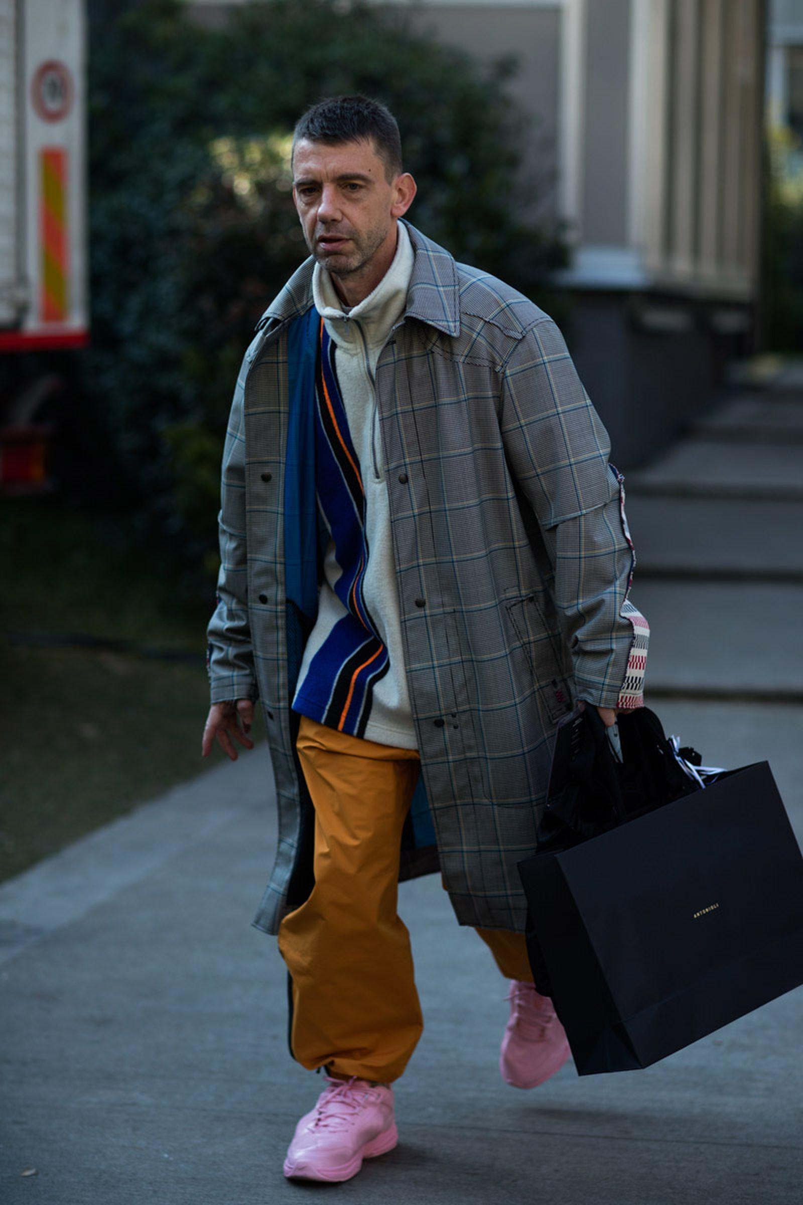 5milan fashion week street style 032c HBA x Colmar Supreme