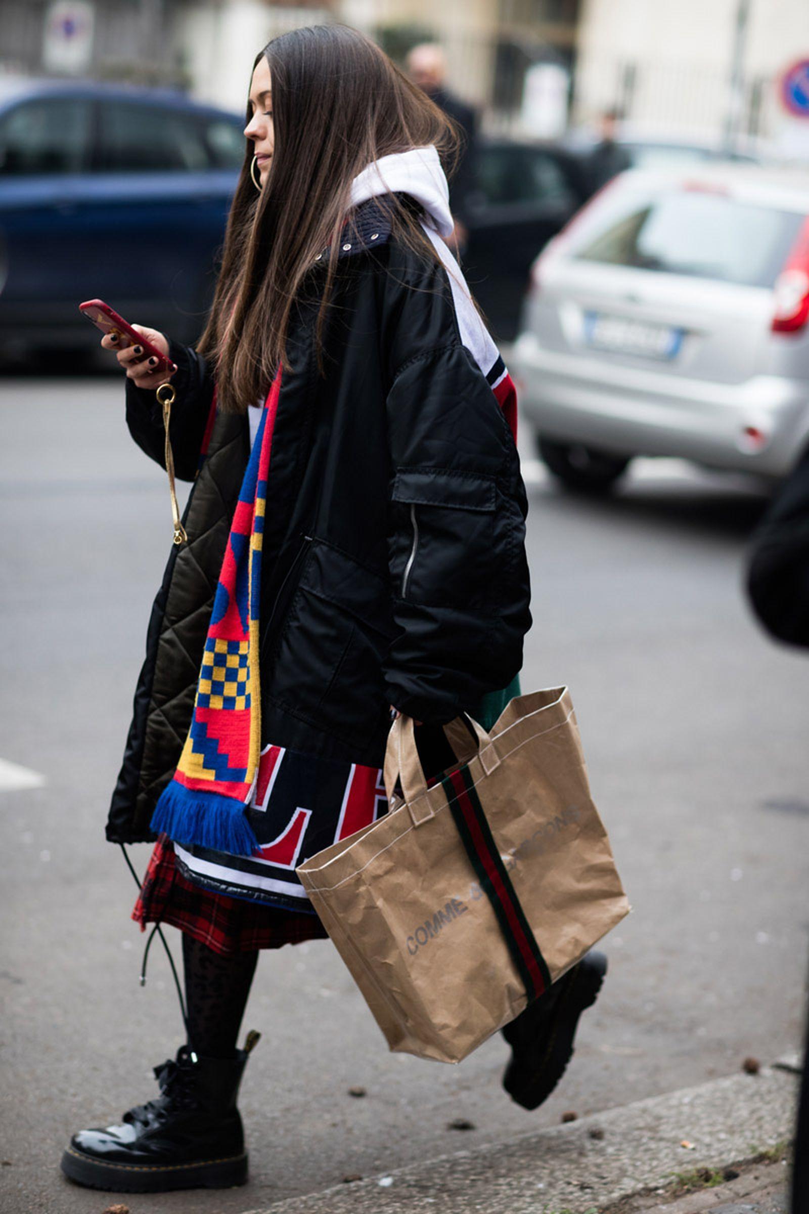 20milan fashion week street style 032c HBA x Colmar Supreme