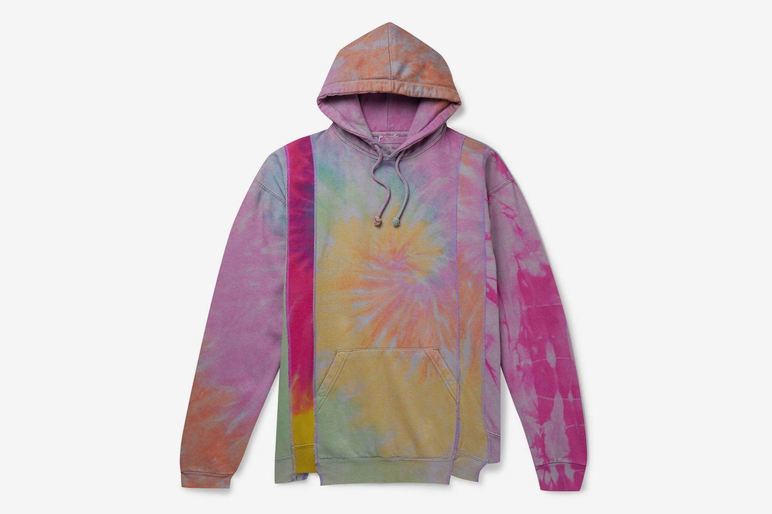 Oversized Tie-Dyed Hoodie