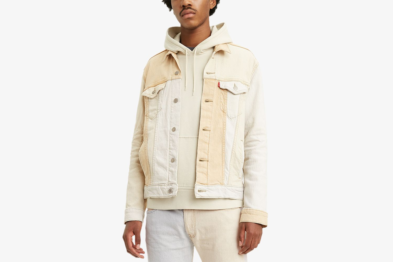 Men's Cliffhanger Two-Tone Trucker Jacket