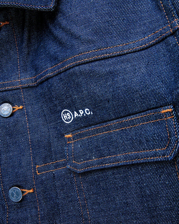 A.P.C. x Highsnobiety — Denim Jacket Blue - Image 3