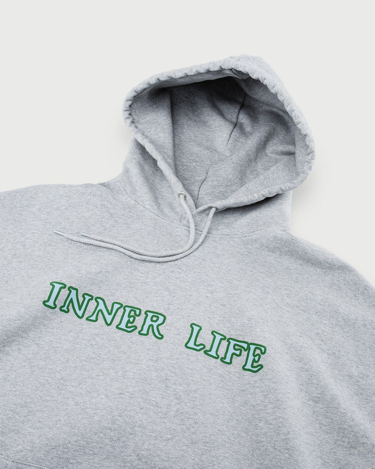 Inner Life by Highsnobiety - The Lovers Hoodie Grey - Image 6