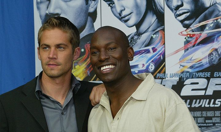 Fast and the Furious Paul Walker and Tyrese
