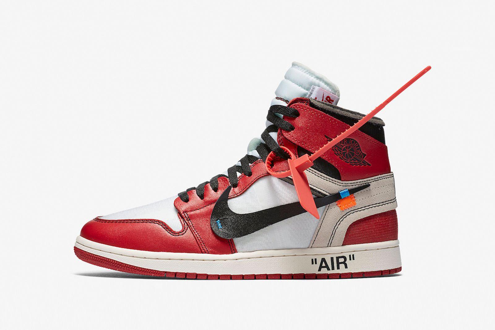 jordan 1 GOAT Nike The Ten OFF-WHITE c/o Virgil Abloh