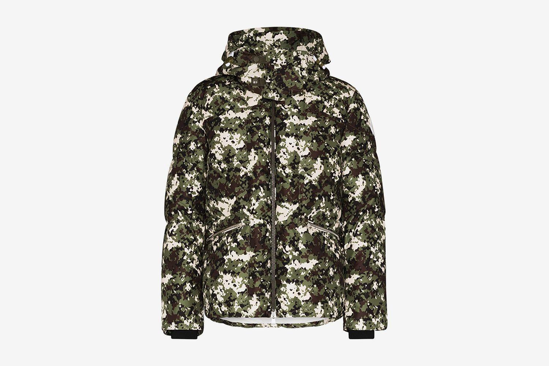 Faux Shearling Down Jacket