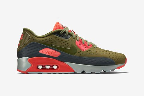 "e0787196e6 Coming through with a lighter and more breathable variation of the Air Max  90 for the warm weather months, here we see the ""Scenery Green"" edition of  the ..."