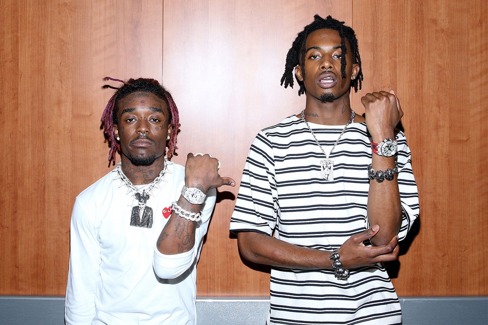 Lil Uzi Vert and Playboi Carti