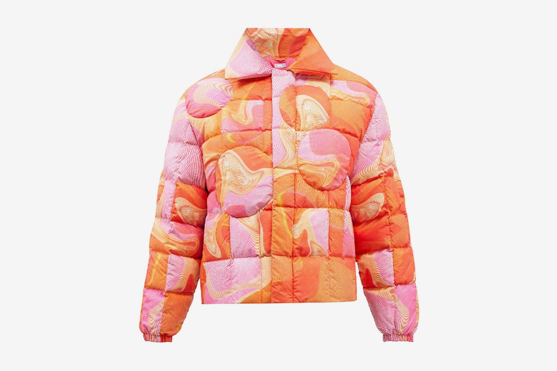 Swirl-Print Jacket