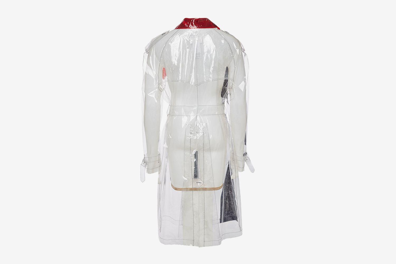Transparent Trench Coat