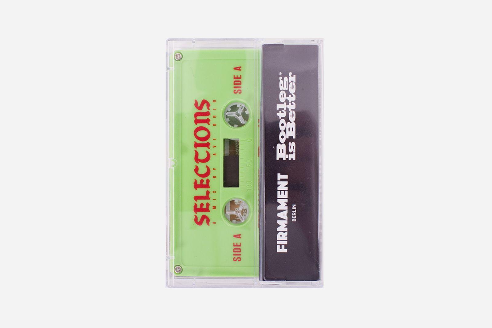 bootleg is better firmament avi gold selections cassette tape ace hotel berlin