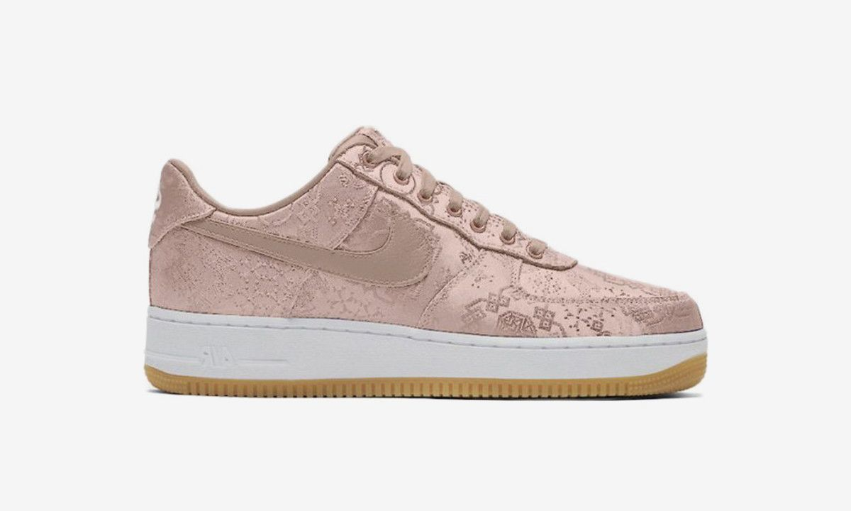 How to Cop the New Rose Gold CLOT x Nike Air Force 1