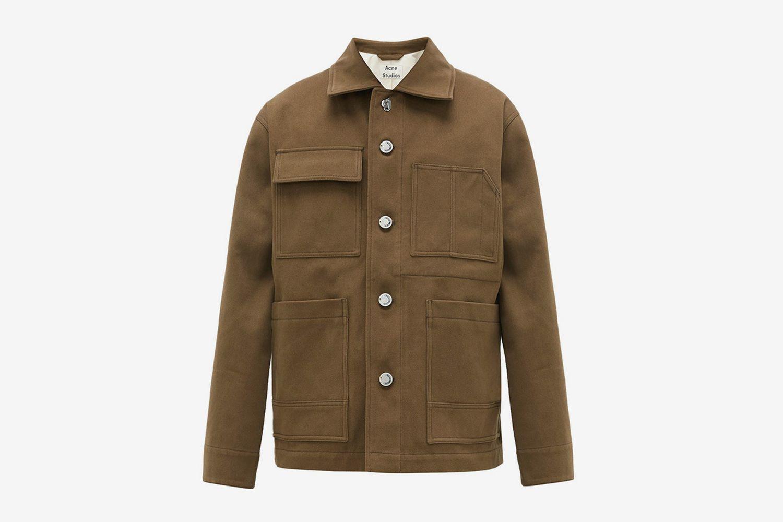 Oakdale Cotton-Drill Jacket