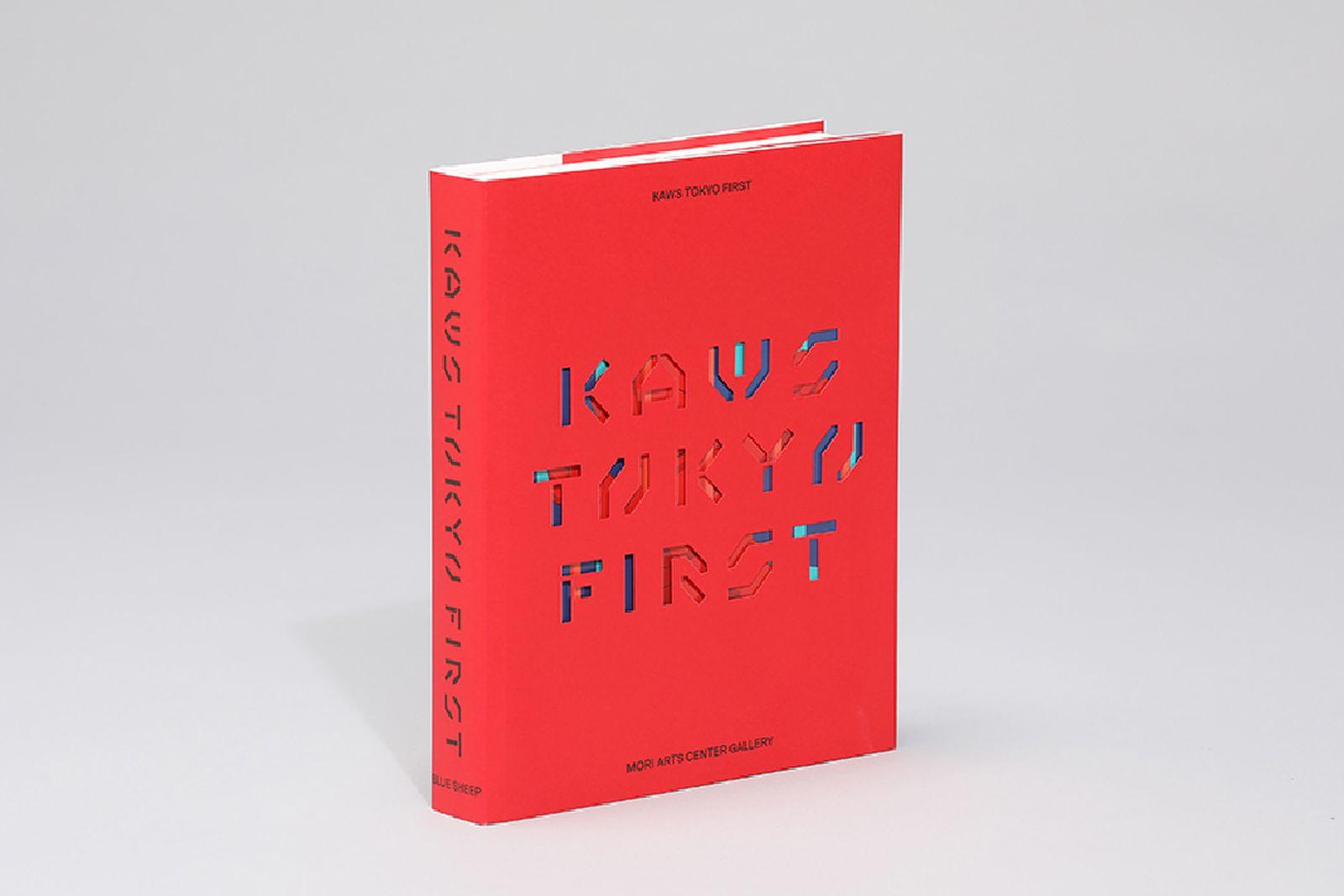 kaws tokyo first exhibit book catalogue