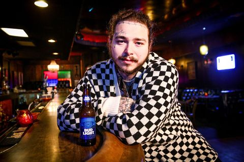 post malone bud light merch launch